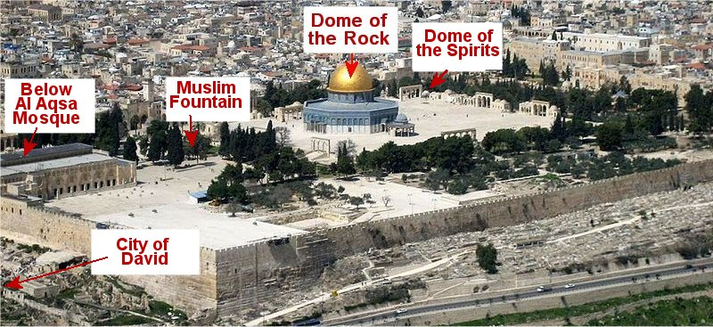 The Temple Mount in Jerusalem-5 theories