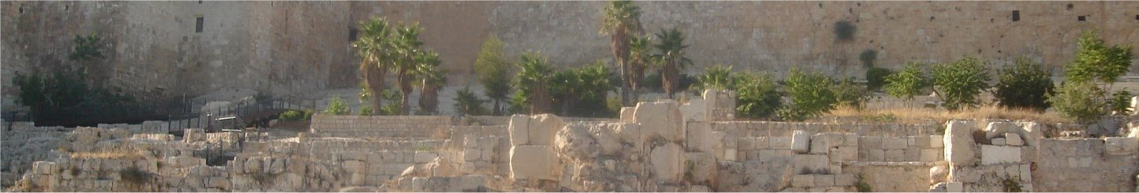 Location of Solomon's Temple