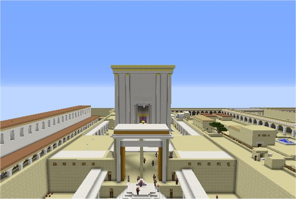 Herod's Temple -Minecraft