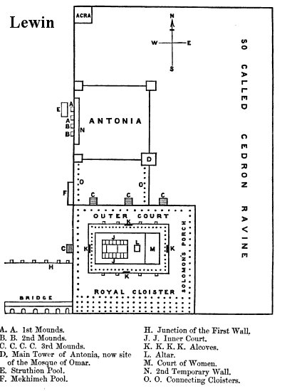 Jerusalm Temple Mount Early Maps