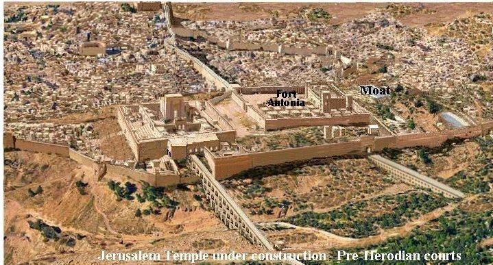 Temple Mount Pre Herodian courts
