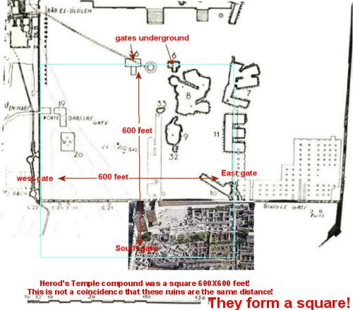 Temple on Warren map